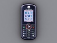 motorola c261 cell phone 3d x
