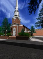 3d model church city