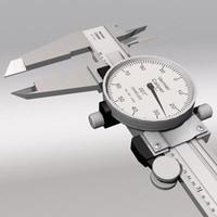 3d model vernier caliper