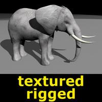 elephant animation 3d 3ds