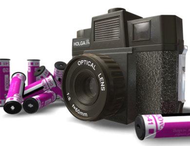 holga camera 3d 3ds