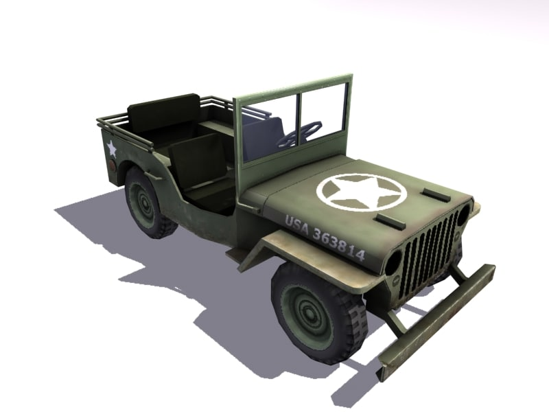 max willys jeep