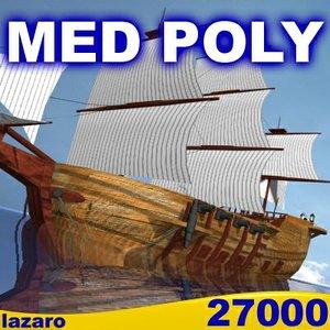 maya med ship cannons