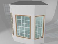 3dsmax bay window
