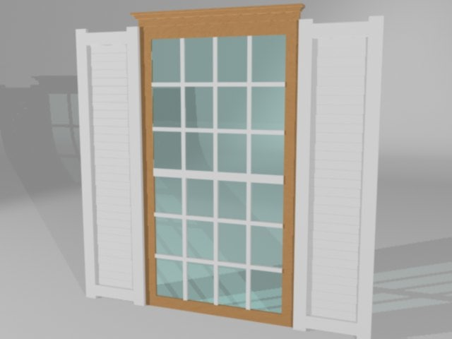 residential window 3d max