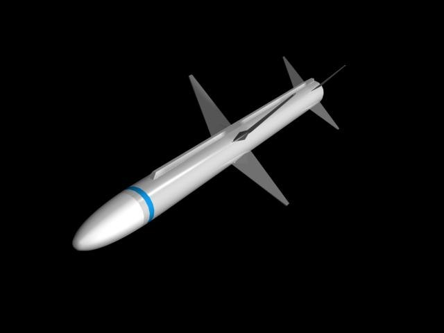 3ds max aim 7 sparrow missile