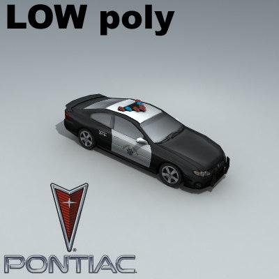 3d pontiac gto highway