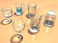 glassware glass beer 3d obj