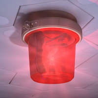 alarm light 3d model