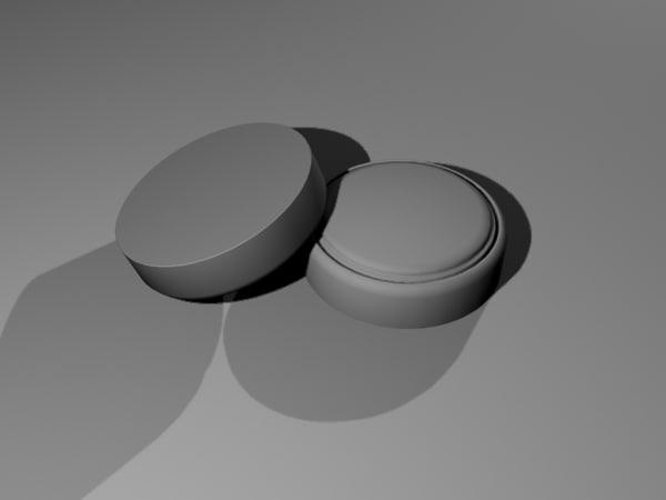 watch battery 3d 3ds