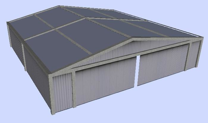warehouse house 3ds