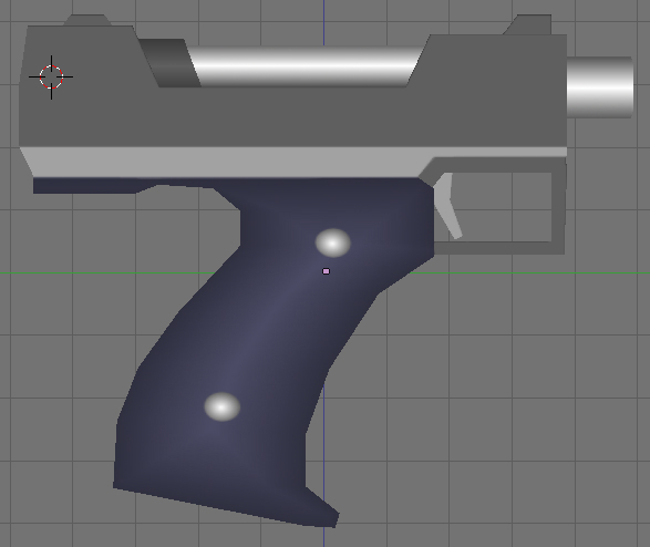 free guns pistol 3d model