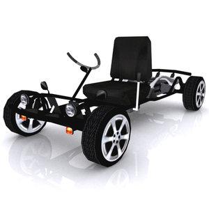3d street cart machine