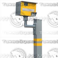 3d model speed camera