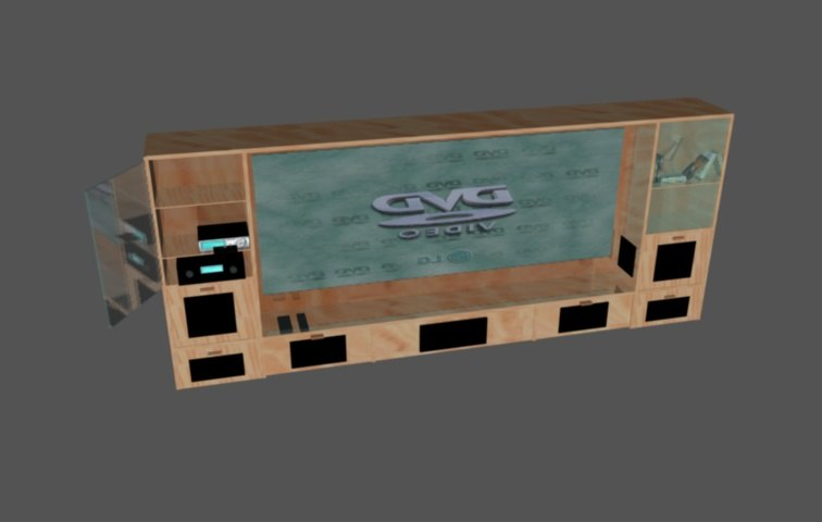 home theater c4d free