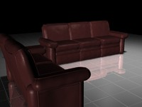 couch chair 3d 3ds