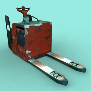 3d model t-20 scooter