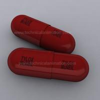 tylox pill 3d max