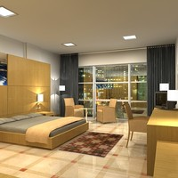 max bedroom room bed