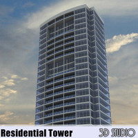 56 Story Modern Office/Residential Building