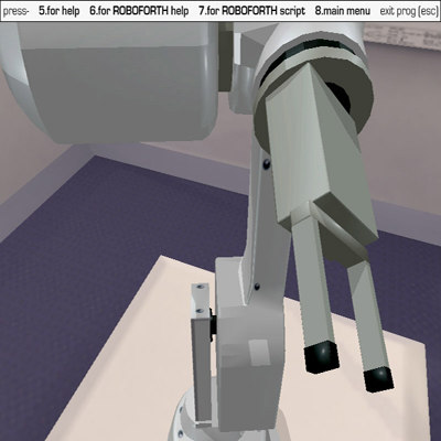 interactive robot arm 3ds free
