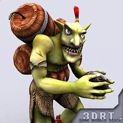 3dsmax fantasy monster