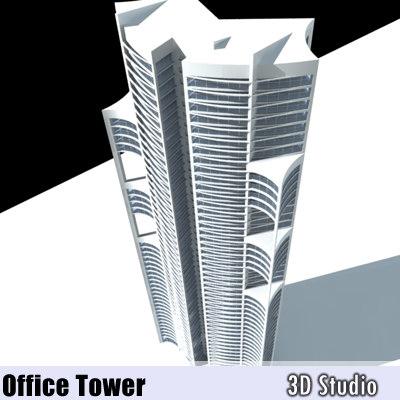 3d model office rise