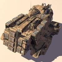 armored car 3d max