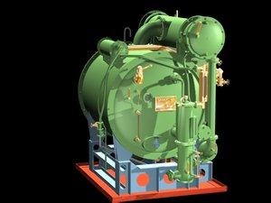 distilling fresh water 3d max