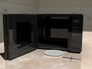 microwave oven 3ds free