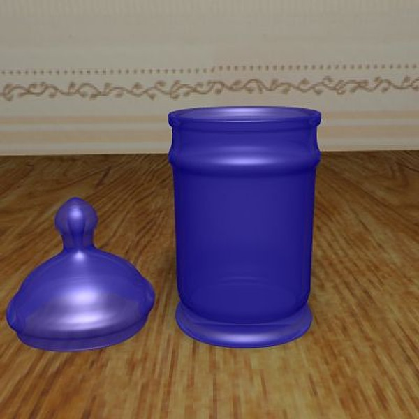candy jar 3d 3ds