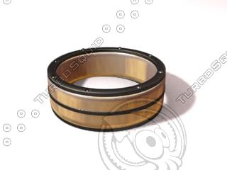 3ds max black gold diamond ring