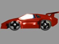 free countach 3d model