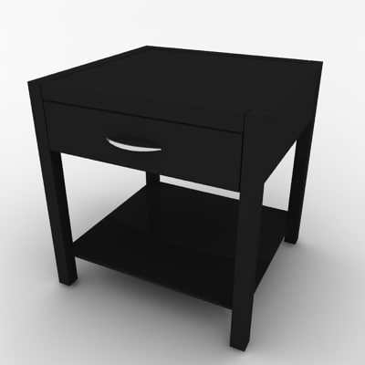 max modern bedside night stand