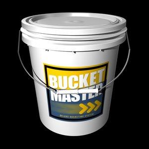 bucket container 3d model