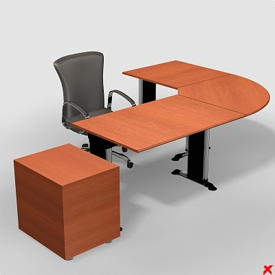 3dsmax office table