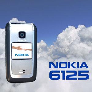 nokia 6125 3d model