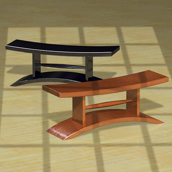 japanese outdoor furniture. 3ds Max Japanese Pod Benches Outdoor Furniture