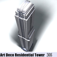 Art Deco Residential Tower
