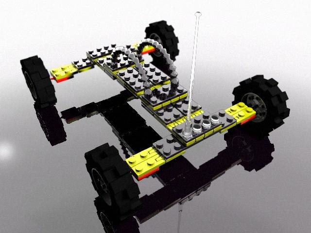 lego jointed 3d max