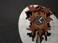 3d german clock