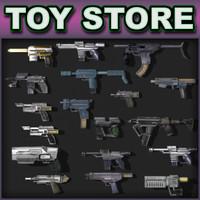 Sci-Fi weapon - pistols