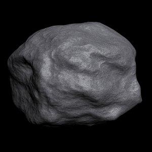 space rock 3d max