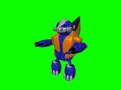 free halo grunt 3d model