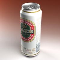 faxe beer 3d model
