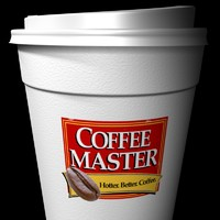 3ds max coffee cup --