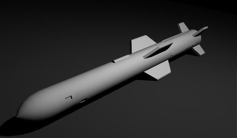 free 3ds mode agm-84 slam missile harpoon