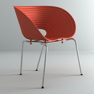tom vac chair 3d 3ds