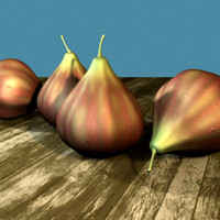 fig fruit 3d model