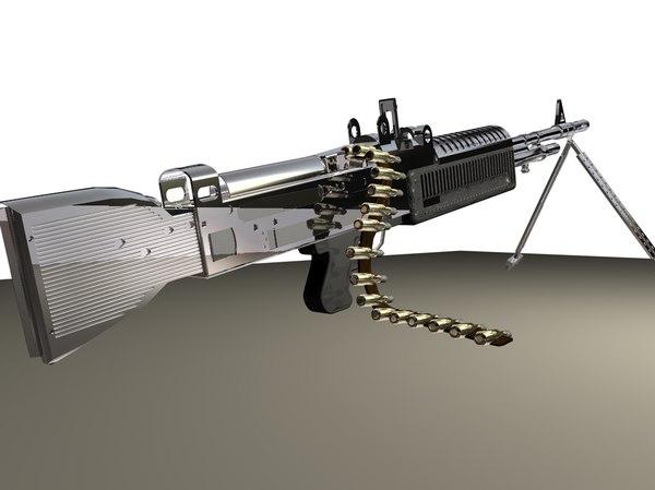 3d m60 heavy machine